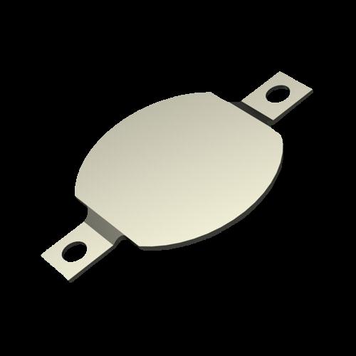 Batteriekontakt für Knopfzelle Minus SMD Ausführung