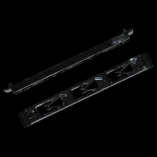 Leiterplatten-Führung 1,3-2,5mm / gefedert