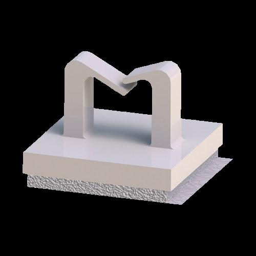 selbstklebender Kabelhalter mit Klebefolie PU Schaum