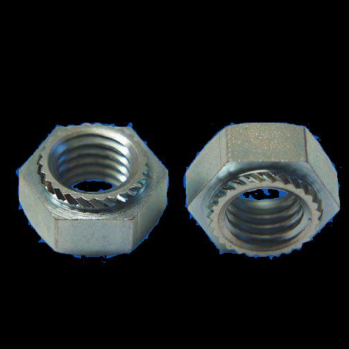 Sechskant - Setzmutter M4 x 3,2 / Schlüsselweite 7