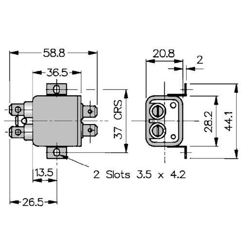 Netzfilter 3A/250V/<0,35mA
