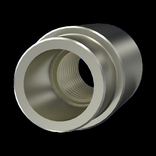 Distanzbuche Einpress-Distanzmutter aus Stahl