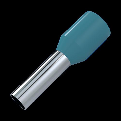 Aderendhülse 0,34mm²/8mm Kennfarbe: Türkis