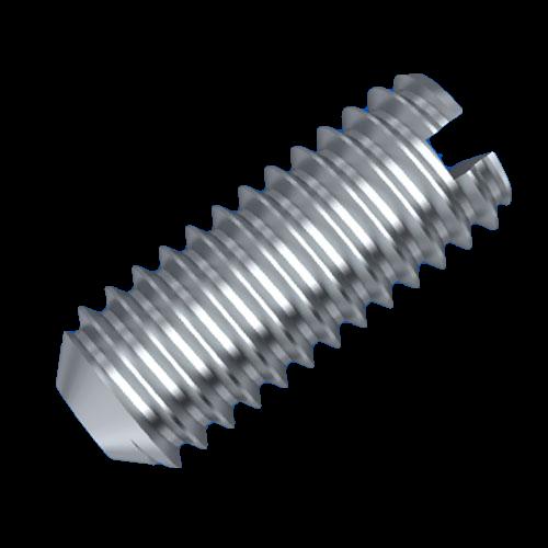 Gewindestift M3,5 DIN551 Ausführung: Schlitz - Kegelkuppe