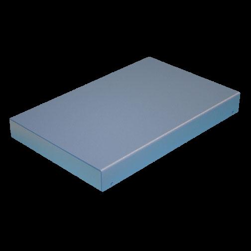 Aluminiumgehäuse Kleingehäuse aus Aluminium zweifarbig lackiert