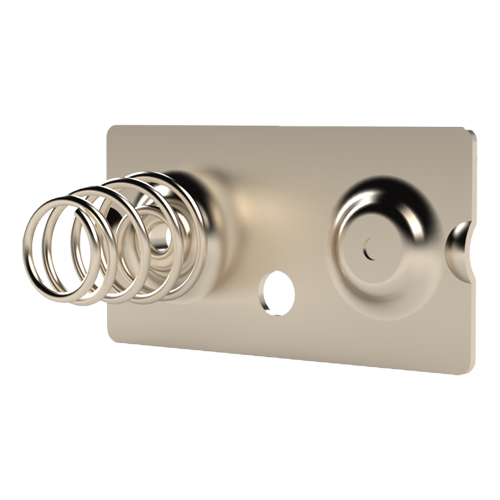 Battery Contact for A + AA cells Spring steel,nickel-plated