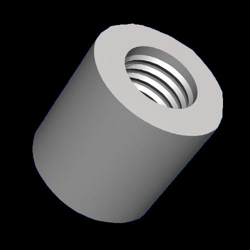 Keramik-Abstandshalter 6/32x19,1mm für hohe Temperaturen + Spannungen