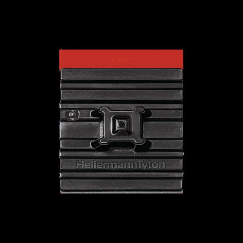 Befestigungssockel für max. 5,4mm FlexTack-4 Wege 28x28x6,3mm