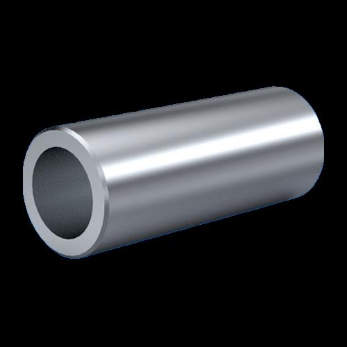 Distanzhülse / Messing vernickelt Wandstärke = 0,5mm