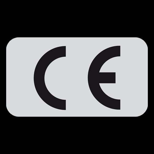 CE - Kennzeichnung 25 x 18 mm / gemäss 93/68/EWG