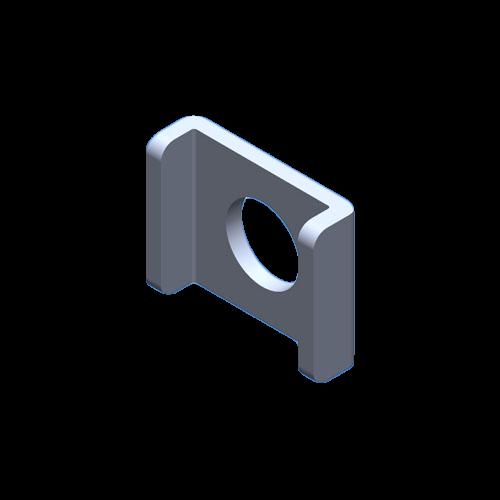 Klemmscheibe Klemmbügel Form E