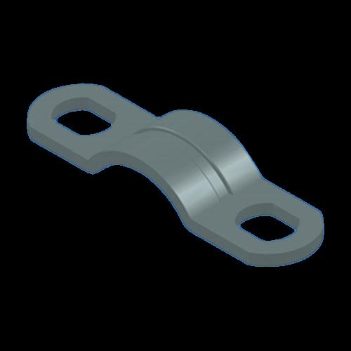 Kabelschelle für ø2,5mm mit Sicke