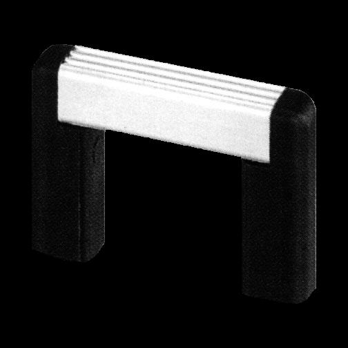 Profilgriff Typ UG-01 86/30/8mm M4 Griffschenkel - Kunststoff schwarz