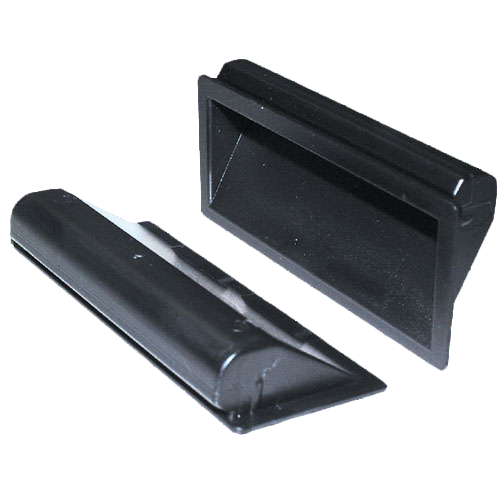 Schalengriff 90x40mm 0,75-1,5mm Ausschnittmaße 83x34mm