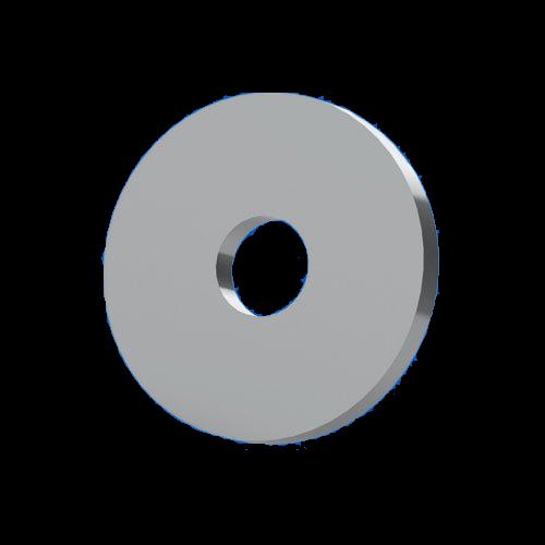 Unterlegscheibe f. M2,5 nach DIN433 ohne Fase
