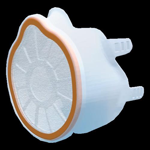 Atemschutzmaske inklusive 2 antiviraler/-bakterieller Filter