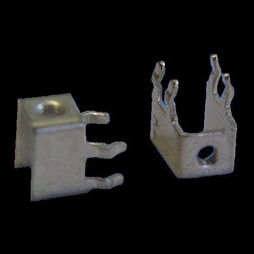 Anschluss-Klemme UNC6-32 max. 15A für Leiterplatten