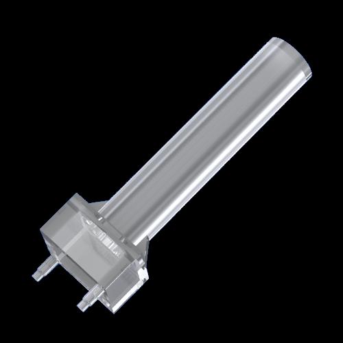 Lichtleiter ø3mm für SMD LED mit flacher Linse