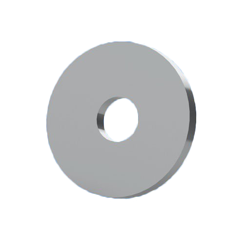 Scheiben für Schrauben: Unterlegscheibe ohne Fase für die Elektronikfertigung