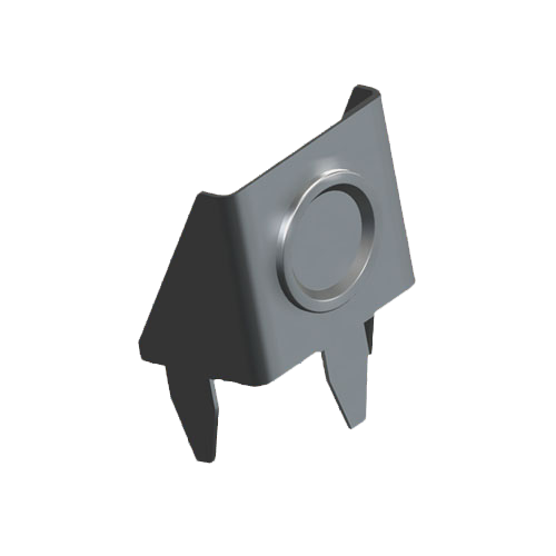 Batteriekontakt - Anschlusskontakt-Plus für AAA Zelle mit Federbügel für LP-Montage