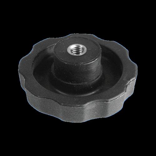 Sterngriff Ø 30 - M6 / DIN 6336 , schwarz
